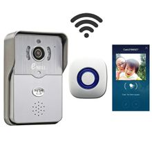 eBELL HD Smart Wi-Fi Video Doorbell Camera w/ Indoor Chime, Mobile Remote Unlock, Full Duplex 2 Way Audio 2.1mm Lens Provide Wide Angle