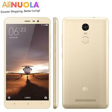 Original Xiaomi Redmi Note 3 Pro Prime 4G LTE 5.5'' 3GB RAM 16MP Snapdragon 650 Hexa Core 3GB RAM 16MP ingerprint Metal Body 10PCS/CTN