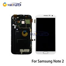 LCD Display Touch Digitizer Complete Screen Panels Full Assembly Replacement For Samsung Galaxy Note 2 II N7100 N7102 N7105