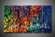 Free shipping canvas art Oil Painting abstract wall deco Guaranteed 100% handmade huge size YP104322