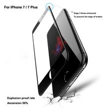 For iPhone 5D 0.2mm Tempered Glass Film Screen Protector for iPhone 8 Full Cover Screen Protectors Film with Package
