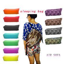 Camping Travel Equipment Lazy Air Sofa Sleep Bag Camping Bed Floor Chair Sofa High-grade Furniture