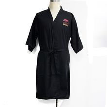 Cotton SPA bathrobe for Men Women Unisex Full Length Hotel SPA Robes