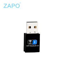 ZAPO 150Mbps Bluetooth 4.0 Wireless network card USB Wifi Adapter LAN Card for PC Laptops wireless adapters