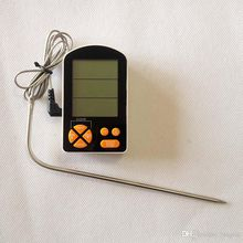 with Alarm Monitored by iPhone & Android APP Supports 6 Probes for Smoker Grill Oven