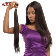 JRX Unprocessed Brazilian Virgin Human Hair No Shedding and No tangle Straight Hair