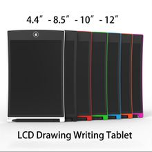 New LCD Drawing Writing Tablet lcd flexible liquid crystal writing board dustless inkless children painting graffiti writing board