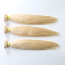 Brazilian Virgin Hair Blonde Hair Straight Hair 613 Color Hair Straight Bundles 613 Hair
