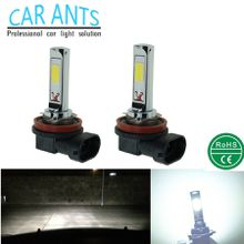 LED Plug-n-Play COB H8H9H11 H16(JP) H10 9005 9006 880 881 30W 1400LM 12V/24V Auto Parts Fog Light Bulb Lamp Nonpolarit Car-styling