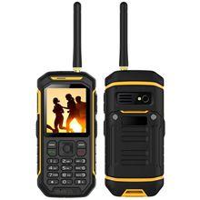 Hot sales outdoor products walkie talkie phone waterproof and shockproof very good PTT phone
