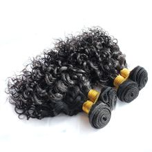 jerry curly color 1b human hair weave
