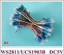 waterproof IP66 UCS1903B digital magic LED pixel light module LED exposed light string advertising light (WS 2811 compatible)