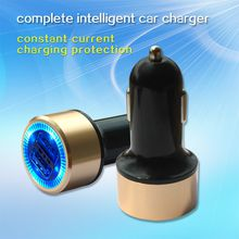 Car Charger High Quality 4.8A Dual USB Car Cigarette Lighter Charger Supplier with Cwitch for Cell Phone Charging portable Charger