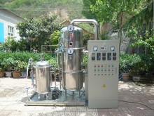 Electric heating Distilled water machine system