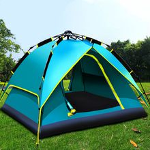 Hydraulic automatic tents
