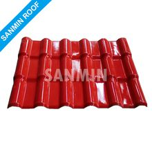 new building materials ASA PVC synthetic resin roof tile plastic roof tiles PVC roof sheet Anti-aging Anti-UV Lightweight waterproof