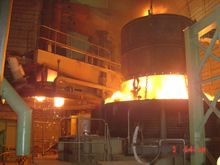 45t EAF for steel plant