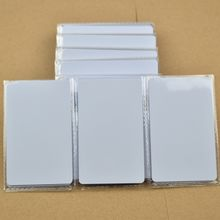 Wholesale-NTAG215 Card NFC Forum Type 2 Tag for All NFC enabled devices ISO14443A NFC Card RFID Smart Tag 1k NTAG215 Chip White Card-100pcs