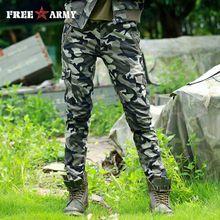 FreeArmy Brand Winter Women Pants Cotton Straight Slim Military Camo Pants Casual Camouflage Pants & Capris Outdoors GK-9617B