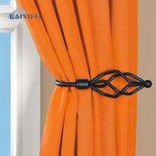 Decorative and practical tie-backs for curtains and drapes