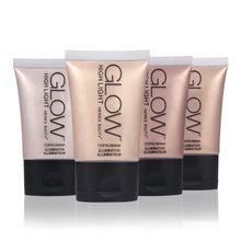 HERES B2UTY Faccia Glow Liquid Highlighter Base Primer Bronzer Shimmer Evidenziatore Contorno Viso Crema Highlighter di Trucco 30 ml