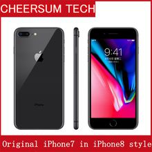 Original iphone 7 in iphone 8 style Case Unlocked Mobile Phone With Touch ID 3G RAM 32GB ROM
