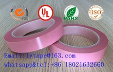 Polyester film insulation mylar tape-- pink color
