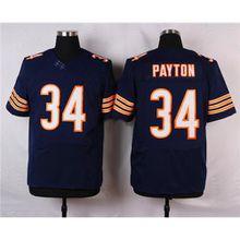 624b8b360c4  34 Walter Payton Elite Football Jerseys American Football Apparel New  Style Football Uniform Brand Professional ...