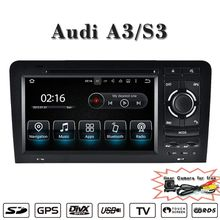 UPsztec Android 7.1 Car Radio for Audi A3 S3(2003-2011)Navigation GPS DVD Player WIFI 3G BT Steering wheel control