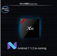 NEW!!! X96W s905W Android 7.1 TV Box WiFi Bluetooth model Support youtube,Skype, gmail. Kodi 17.1 OTT TV BOX