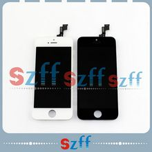 Wholesale For IPhone 5S LCD Display + Touch Screen Digitizer Assembly DHL & EMS Fast Safe Free shipping
