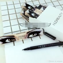 2017 selling foreign trade new huda beauty single head eyeliner does not bloom water and sweat lasting ZNS016