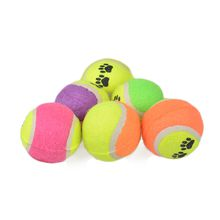Outdoor Pet Dog New Tennis Balls Cute Bite Proof Environmental Soft Rubber Material Interactive Puzzle Toy