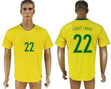 New Arrived 2018 Brazil Soccer Jersey Home Away Brazil 11 OSCAR 2018 World Cup Soccer Rugby Jerseys