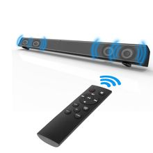 2018 Soundbar LP-09 card reader home theater wireless echo wall Bar Speaker with Remote Control