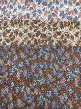 150cm width Chiffon bead chiffon fabric flowers dots pattern for skirt suit-dress hair accessory AH-127