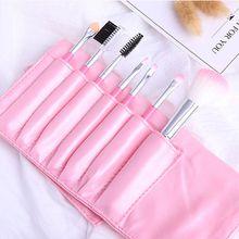 Professional 7 pcs makeup brush set face and eye cosmetics brushes nail art beauty tools kit