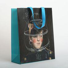 Wholesale Custom Personalized Pattern Merchandise Shopping Kraft Paper Bags2