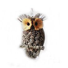 """Alldeco 15"""" Pinecone owl"""
