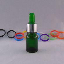 mini glass bottle 5ml glass dropper bottle essential oil bottle with glass dropper cap for skincare