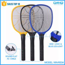 WN-RS34 rechargeable mosquito swatter with blue light and power cord charging