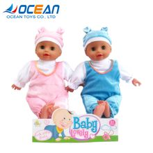 Girls' favorite 16 inch silicone reborn baby dolls with 4 sounds