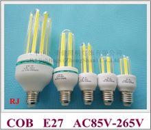 corn LED bulb E27 COB LED corn bulb light lamp 3W 7W 12W 20W 32W AC85V-265V input E27 COB LED beads new design 2017