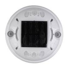 China manufacturer garden light 360 degree 6 LED 8 LED 10 LED plastic material led flashing solar road cat eyes