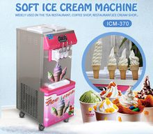 Kolice Hotsale cheap price CE EMC certificate EU standard soft ice cream machine yogurt ice cream machine