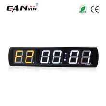 [GANXIN]4 inch Gym Fitness Timer Cross Fit Interval Training Electric Timer LED Digital Adjust Brightness Gym Equipment Wholesale