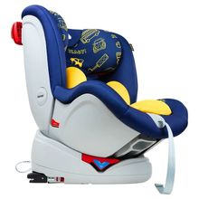 The baby swivel in the car seat