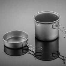 Sell standard titanium cutlery 3 piece type titanium bowl