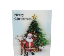 3d handwork christmas greeting card with envelope and custom printing