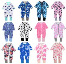 100% Cotton Spring Baby Long Sleeve Rompers Top Quality Printing Baby Rompers Jumpsuits Baby Clothing 48 styles for choose